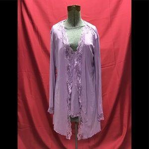 Victoria's Secret size xs/s negligée and nightgown
